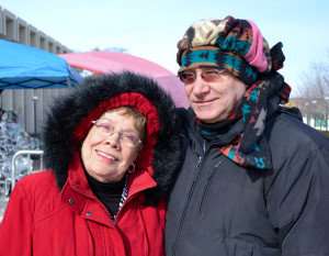 Fort Wayne celebrated Winterval Jan. 31 downtown. Rose Wallace, Roy Wallace
