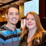 Fort Wayne Magazine's Bridal Extravaganza was Feb. 22 at the Grand Wayne Center. Devon Baird, Kari McCrory