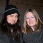 Wunderkammer Company's Fringe Festival Fundraiser was Jan. 31 at the gallery. TJ Ochoa, Amy Echo