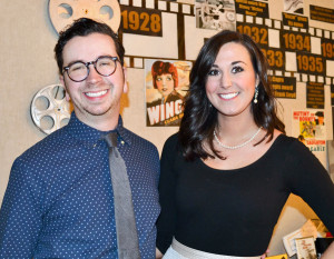 Cinema Center's Oscar Party was Feb. 20 at the theater. Ryan Pickard, Lauren Coxen