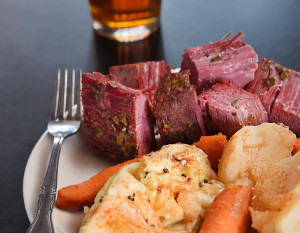Flanagan's Corned Beef & Cabbage. Photography by Neal Bruns