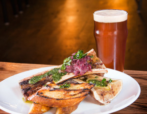 Tolon's Roasted Bone Marrow, photography by Neal Bruns