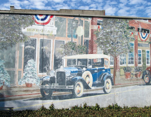 A mural in downtown Roanoke.