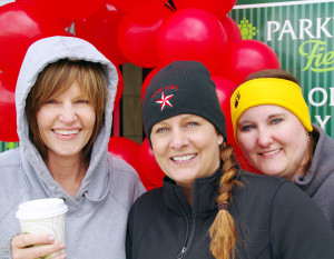 The 2016 AIDS Walk was May 14 at Parkview Field. Kay Wise, Shannon Minnie, Angie Freiburger