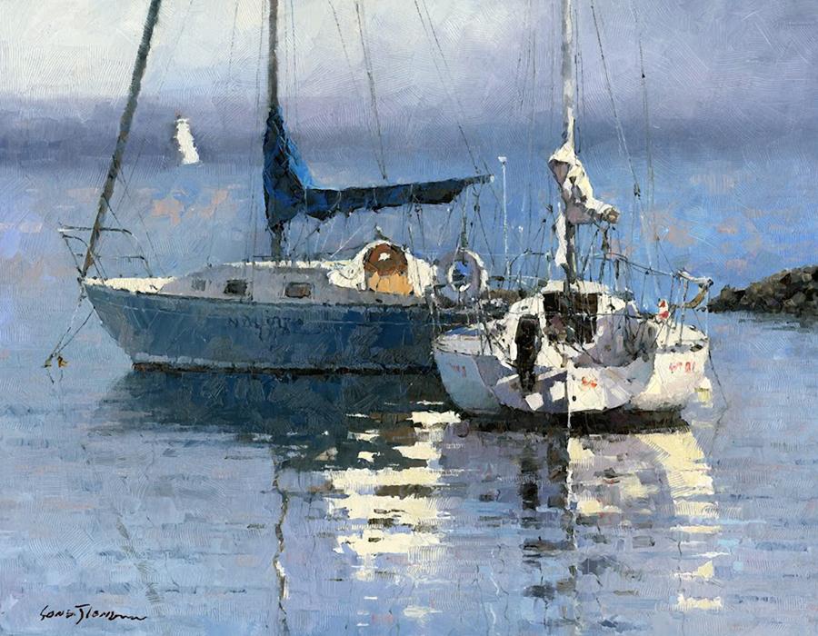 """""""Lakefront"""" by Xiao Jiang"""