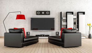 METRO CREATIVE CONNECTION For homeowners with plenty of space, the dream still lives of a true theater space in which to watch television and movies with top-notch speakers visible as part of the décor, but as technology advances not every home needs to devote space to these uses.