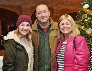 32nd Annual Festival of Trees was Nov. 23-30 at The Historic Embassy Theatre. Aubree Smith, Steven Smith, Marlene Smith