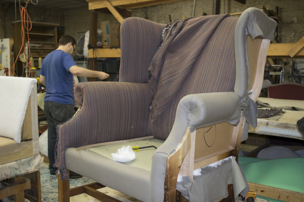 Attirant FORT WAYNE NEWSPAPERS Glamorous Old Dining Chairs Become Trendy Pieces With  The Right New Upholstery.