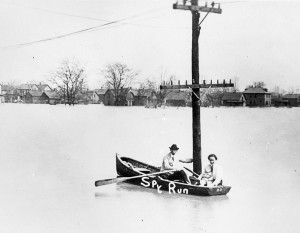 From the 1913 flood, courtesy of the Allen County Public Library Digital Collection