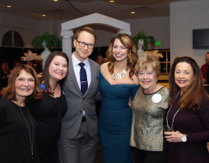 Cancer Services of Northeast Indiana's Design on Life Auction was Feb. 25 at Ceruti's Diamond Room: Gayle Bloom, Stacey Stumpf, Brien McElhatten, Krista Miller, Linda Bewley, Debbi Smith