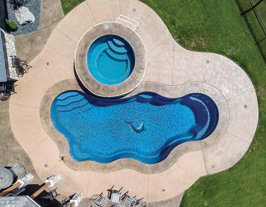 Pool Time Is Fun Time FortWaynecom - Backyard pools by design fort wayne indiana