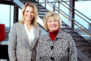 Allison Bell and Dr. Sherilyn Emberton