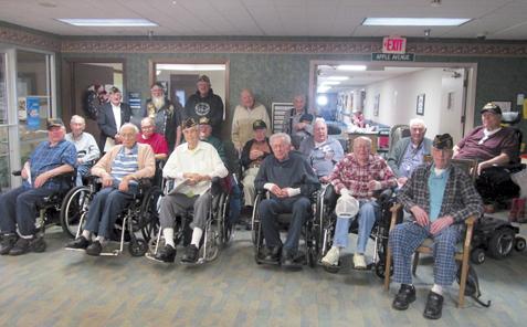 Bob Baker Dodge >> Southfield salutes veterans   News, Sports, Jobs - The Freeman Journal