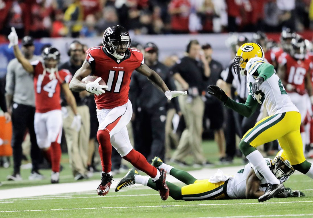 Atlanta Falcons Jobs >> Ryan Atlanta Demolish Green Bay News Sports Jobs The Herald Star