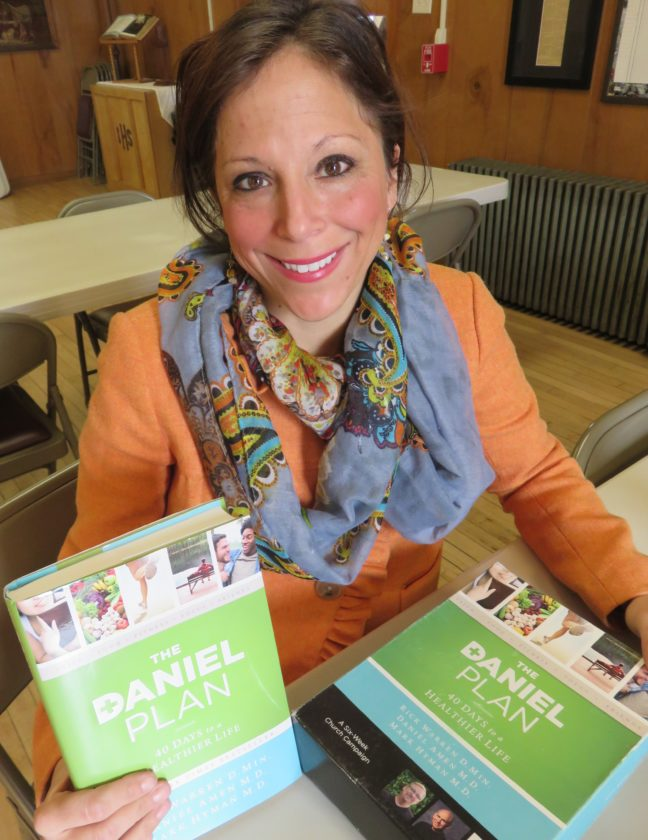 """LOOKINGFORPARTICIPANTS — Marci Snyder-Crawford will be leading a healthy lifestyle study series on """"The Daniel Plan,"""" which will begin at 6 p.m. Sunday at Richmond United Methodist Church, 112 S. Sugar St., Richmond. -- Janice Kiaski"""