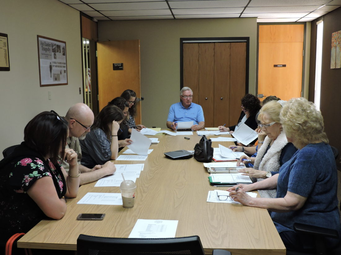"""INDEPENDENCE DAY PLANNING — Members of the Renaissance Weirton committee met recently to finalize plans for this year's Independence Day observances in the city, which will be held Saturday. Activities will include the annual Fourth of July parade, Renaissance Weirton's """"Red, White and Boom 2017"""" festival, and a performance by the Wheeling Symphony. - Craig Howell"""