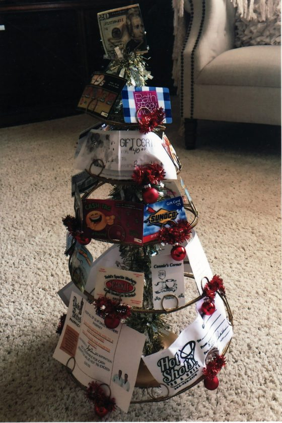 Chester Arts Club gift tree -- Contributed
