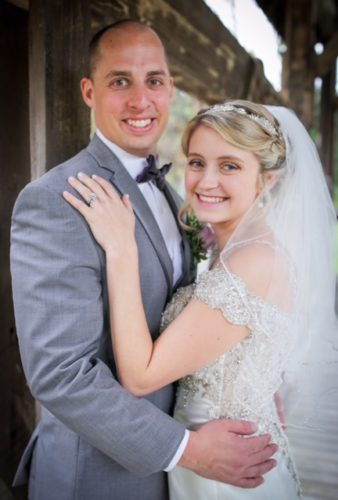 Mr. and Mrs. Ryan Franke