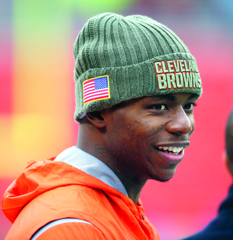 BrownsZone: Jackson says Gordon's return to practice like Christmas in November