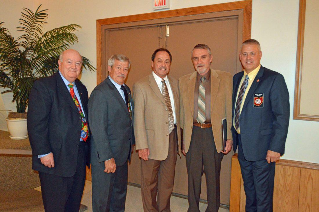 From left, Matt DeTemple, Tom Willsey, Phil Lawrence, Dan Meeker and Scott Fabian -- Contributed