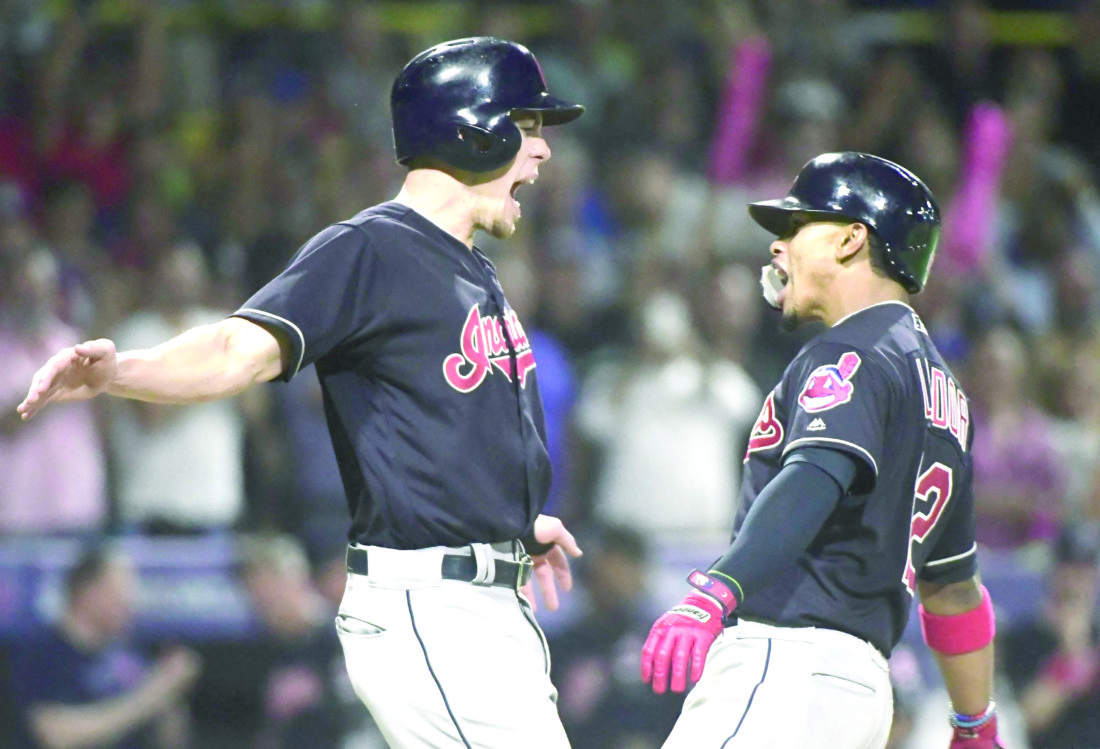 Major League Baseball wrap: Francisco Lindor sends native Puerto Rico into frenzy with HR