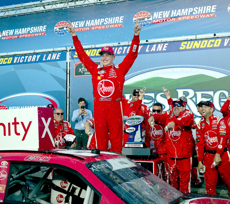 Christopher Bell wins Loudon Xfinity race after restart — NASCAR notebook