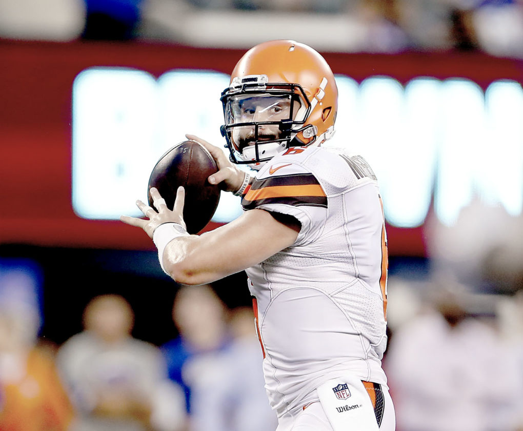 Baker Mayfield shines during his Browns debut