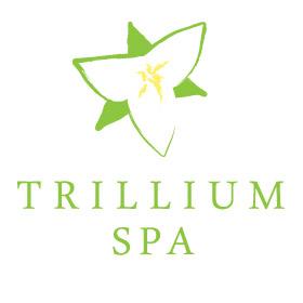 Trillium Spa Menu
