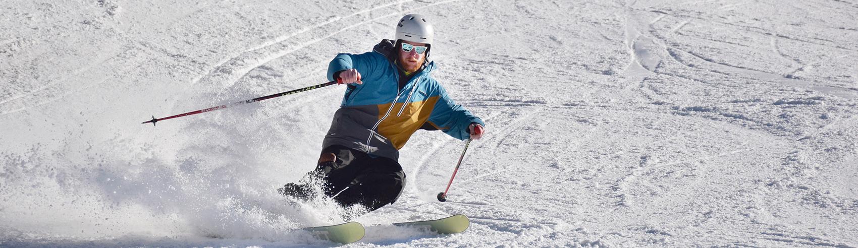 skier-turning