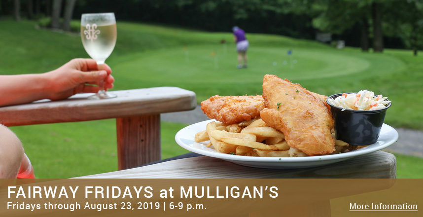 Fairway Fridays at Mulligan's