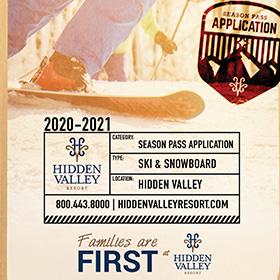 Season Pass Application