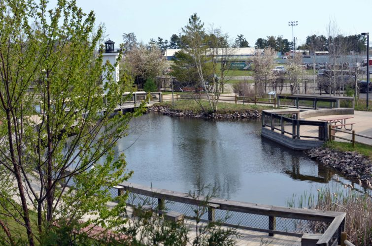 The Michigan Department of Natural Resources Pocket Park is on the Upper Peninsula State Fairgrounds in Escanaba.