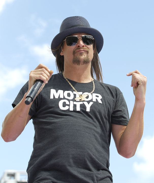 Kid Rock confirms he is running for US Senate