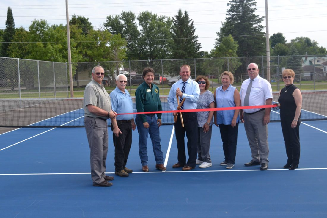 Kingsford Tennis Courts News Sports Jobs The Daily News