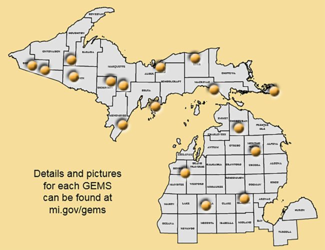 Grouse Enhanced Management Sites, found across Michigan's Upper and northern Lower peninsulas, are large blocks of land open to hunting that are managed for young forests and offer excellent spots to hunt and see wildlife.