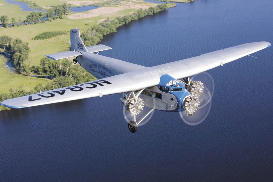 AMONG THE HIGHLIGHTS of the 15th annual Ford Airport Day, set for Saturday, is the Experimental Aircraft Association's 1929 Ford Tri-Motor airliner, one of the first commercial aircraft. The Ford Tri-Motor is set to arrive at the Kingsford air field Thursday and will provide rides for a fee.