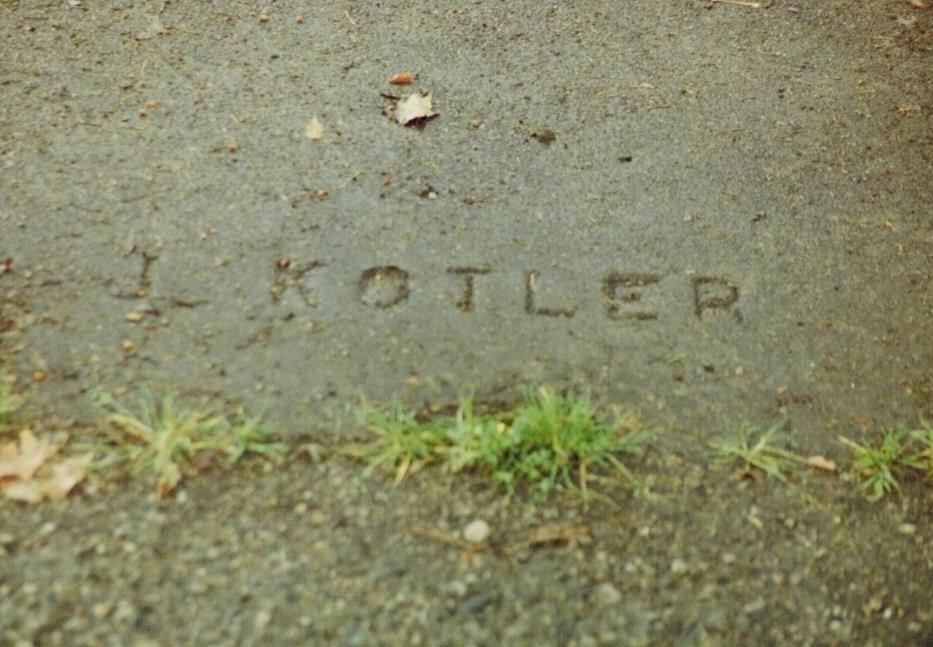 Kotler sidewalk