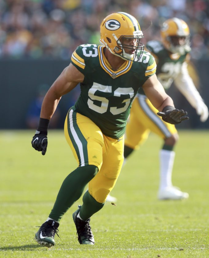 Green Bay Packers outside linebacker Nick Perry is scheduled to have hand surgery. The timetable for his return is unknown. (AP Photo)