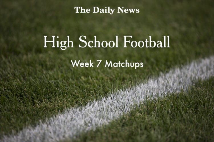 Week 7 Football Matchups