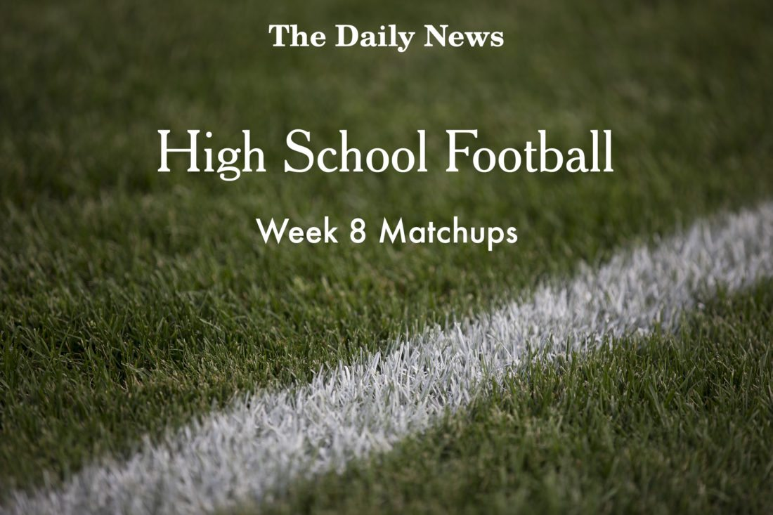 Week 8 Matchups