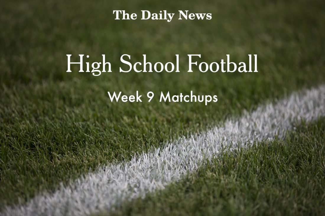 Week 9 Football Matchups