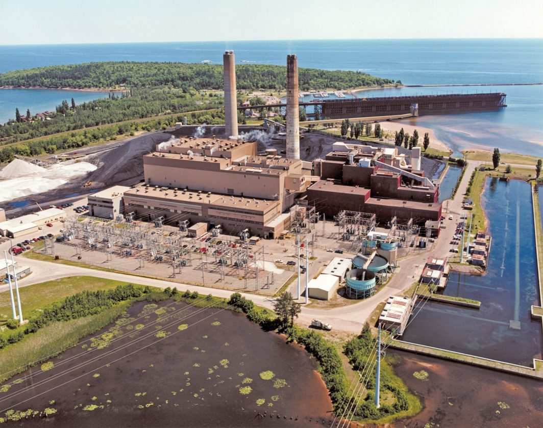 The Presque Isle Power Plant in Marquette is shown. A federal oversight committee ruled this week that We Energies' collection of nearly $23 million in subsidy payments to keep the facility operating was not just or reasonable.