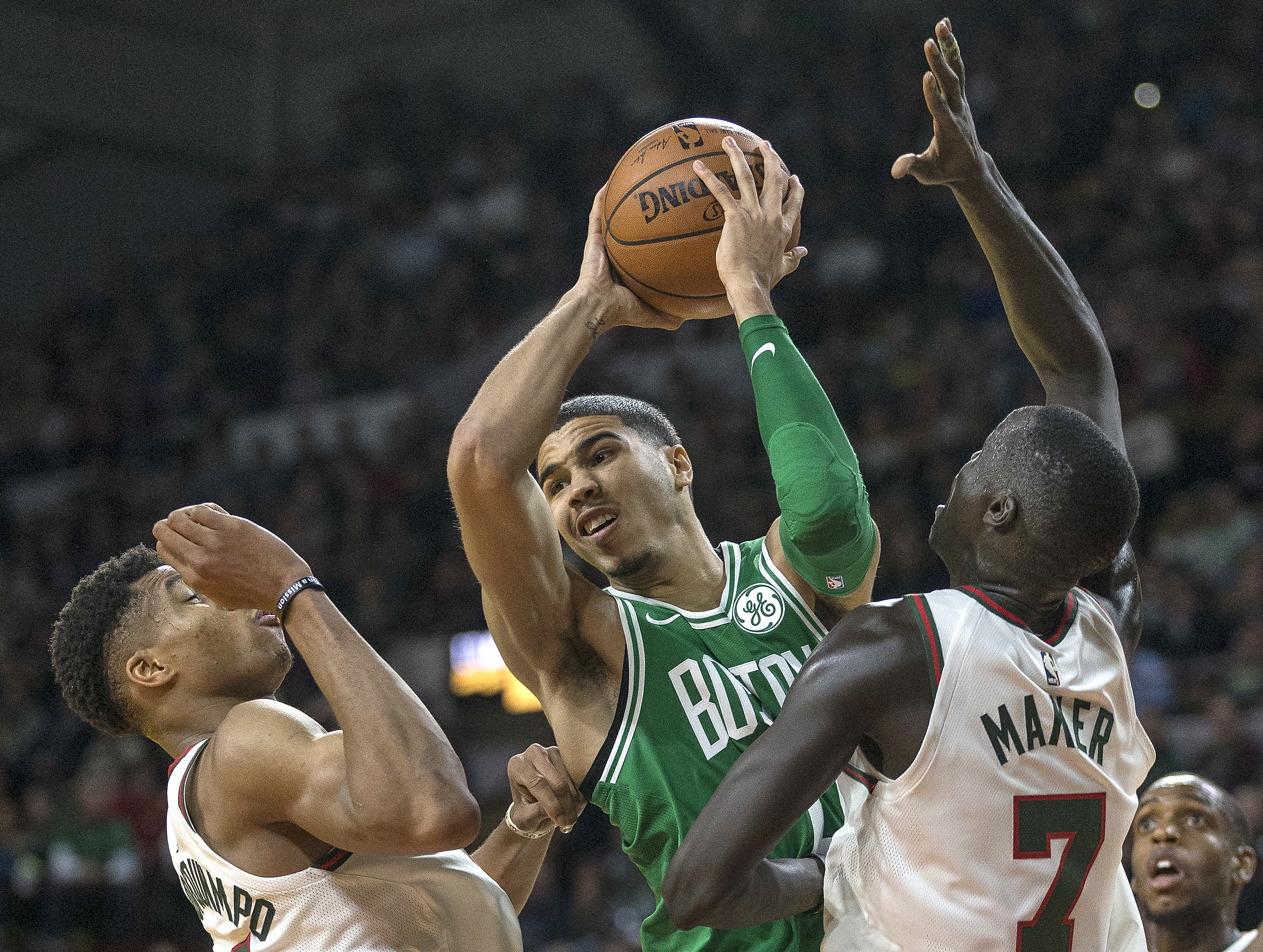 Horford Irving lead Celtics past Bucks 96 89