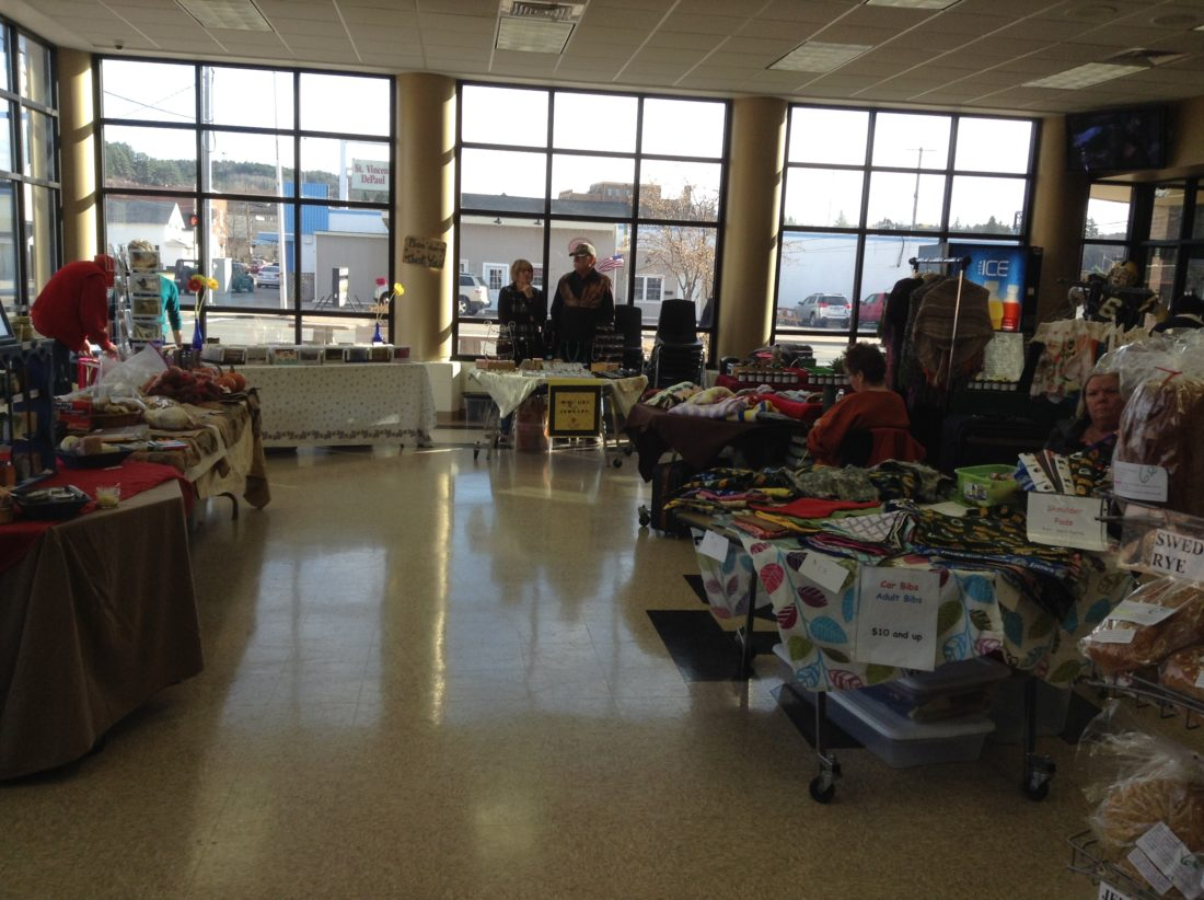 The Iron Mountain Farmer's & Artisan's Winter Market will be held from 9 a.m. to noon today at the Izzo-Mariucci Center.