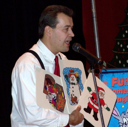 Gordon Russ will perform his Winter Wonderland magic show Thursday at the Dickinson County Library.