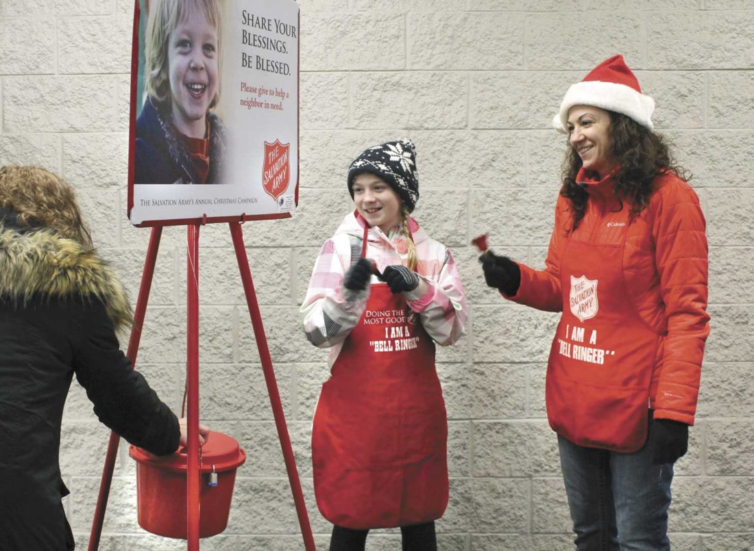 Salvation Army needs public's help to reach charitable goal