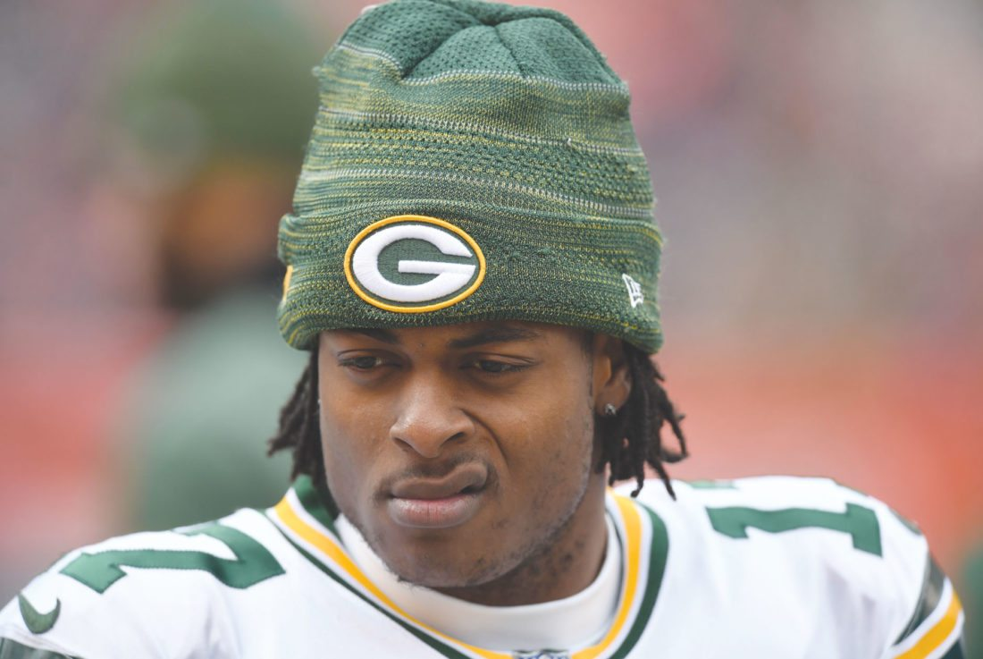 AP Photo Green Bay Packers wide receiver Davante Adams has signed a contract extension.