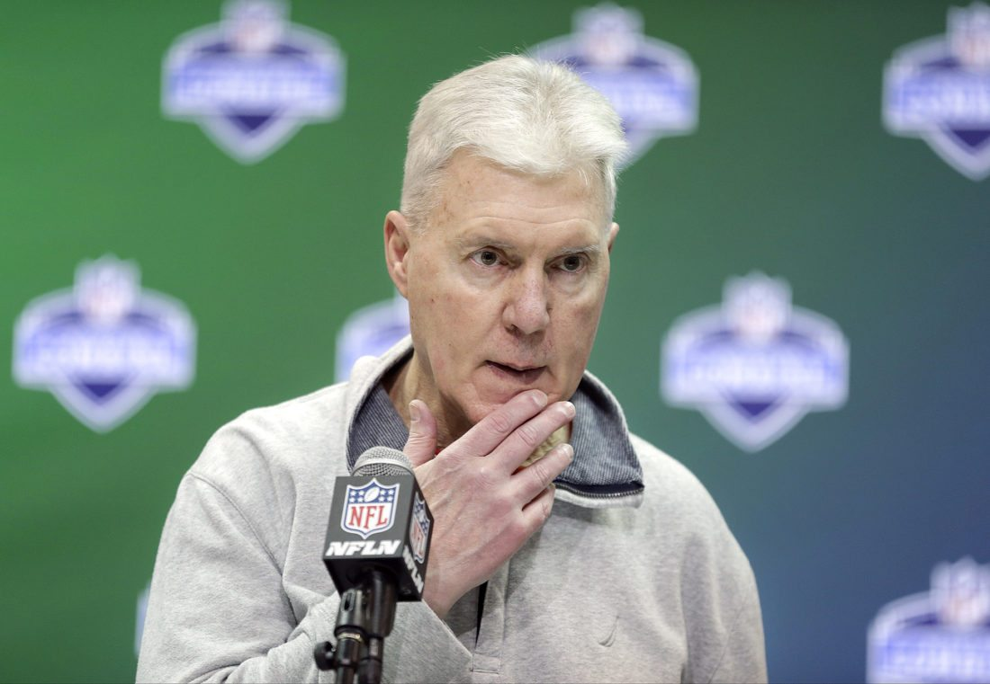 Green Bay Packers general manager Ted Thompson, shown in March, is leaving his job as general manager of the Green Bay Packers, a big change after one of the league's most successful and stable teams missed the playoffs and finished with a losing record for the first time since 2008. The Packers (7-9) have not formally announced the move that surfaced in media reports on Monday, but players spoke about the transition as they cleaned out their lockers on Tuesday.  (AP Photo/Michael Conroy, File)