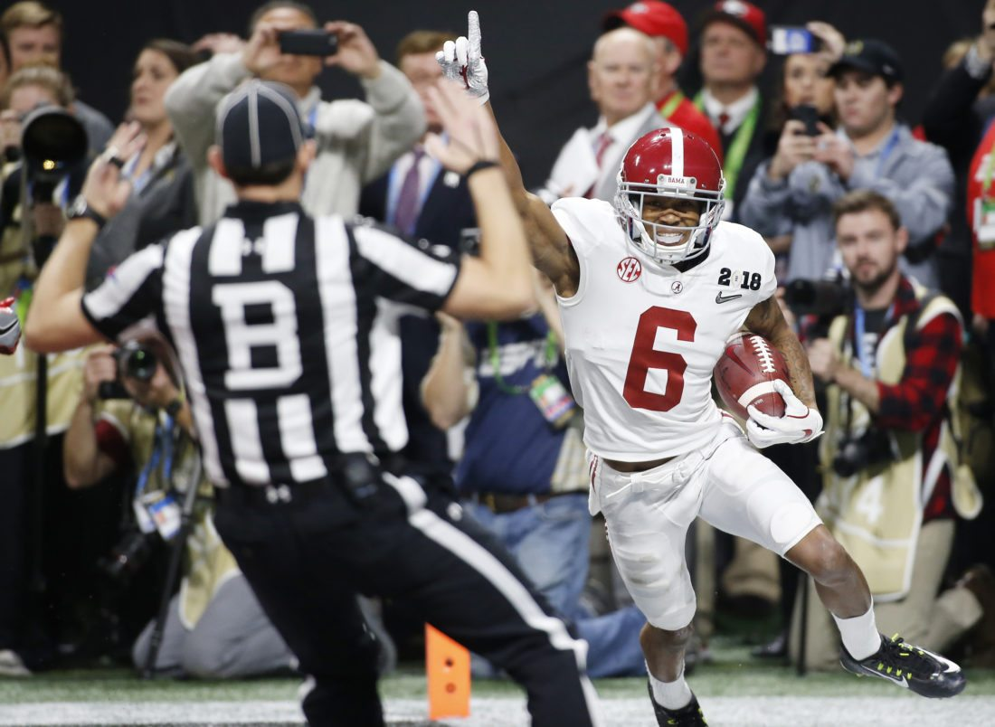 Alabama defeat Georgia in OT