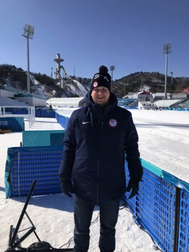 Nick Laurila is at the Winter Olympics in South Korea.